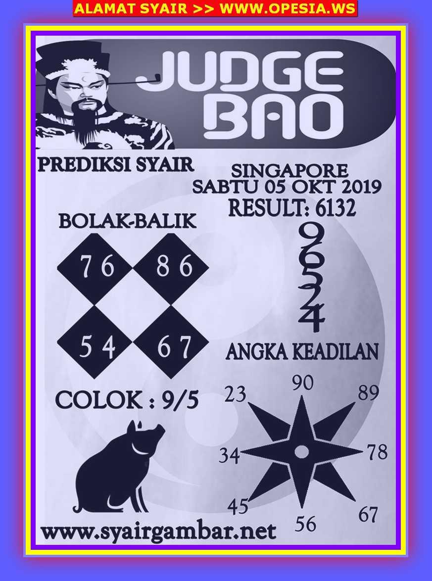 Kode syair Singapore Sabtu 5 Oktober 2019 30