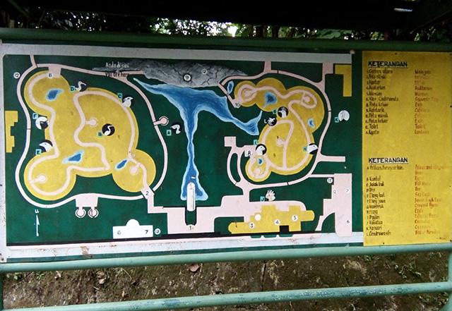 Taman Burung, Taman Mini Indonesia Indah [TMII]-maps