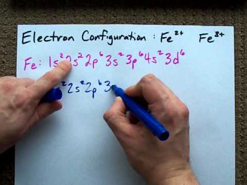 in the groundstate electron configuration of fe3, how many unpaired electrons are present