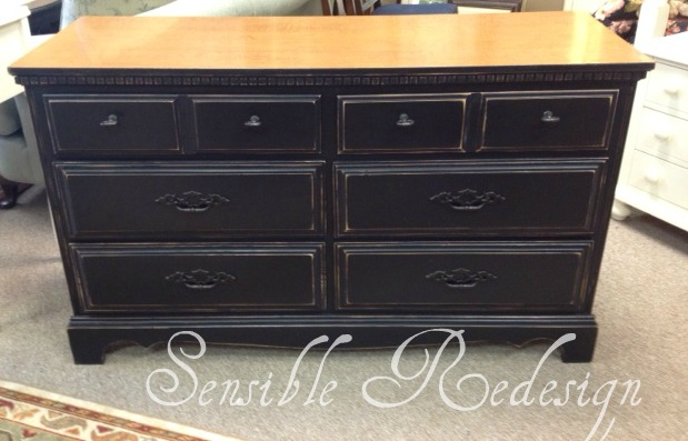 Sensible Redesign Double Dresser