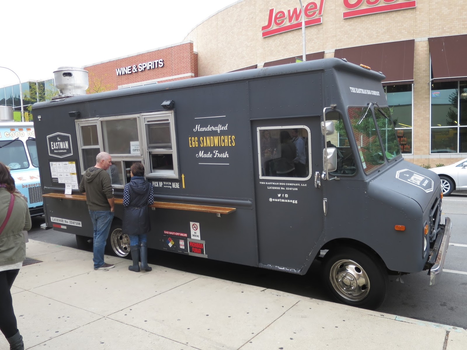 Food Truck Parked Nearby You Know Because If There Were No Trucks Where People Could Eat A Quick Cheap Snack At Then Theyd Go Get 28 Oz Bone In Ribeye