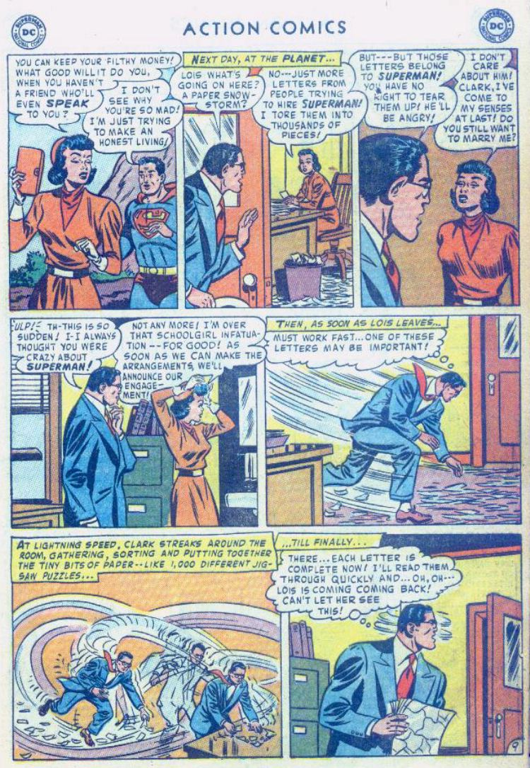 Read online Action Comics (1938) comic -  Issue #176 - 11