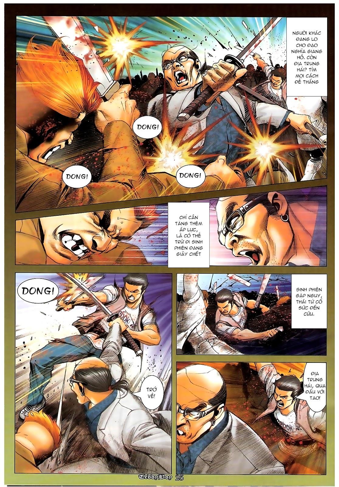 Người Trong Giang Hồ - Chapter 1227: Thái Tử Chung Cực Chiến - Pic 21