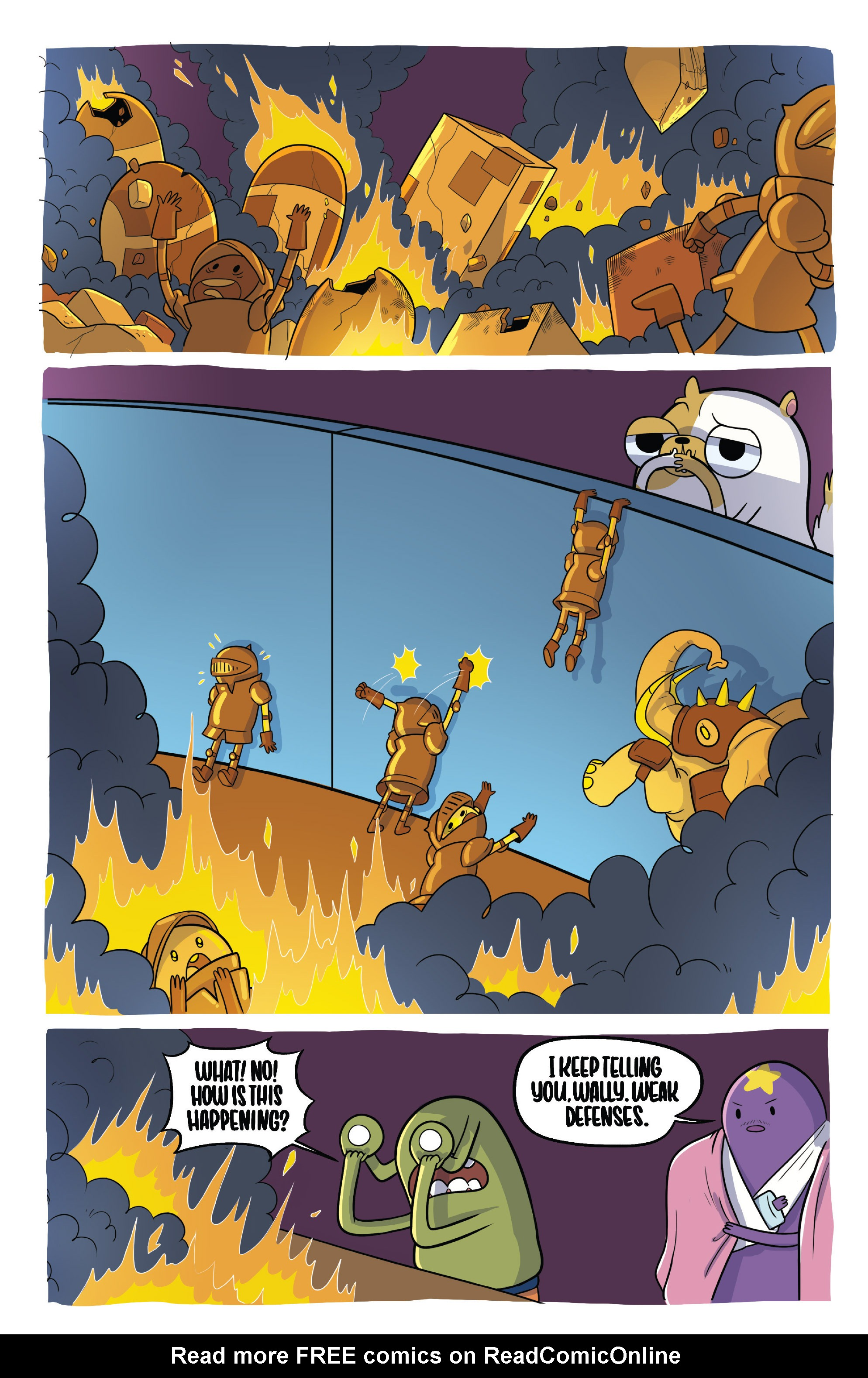Read online Adventure Time Fionna and Cake Card Wars comic -  Issue #2 - 21