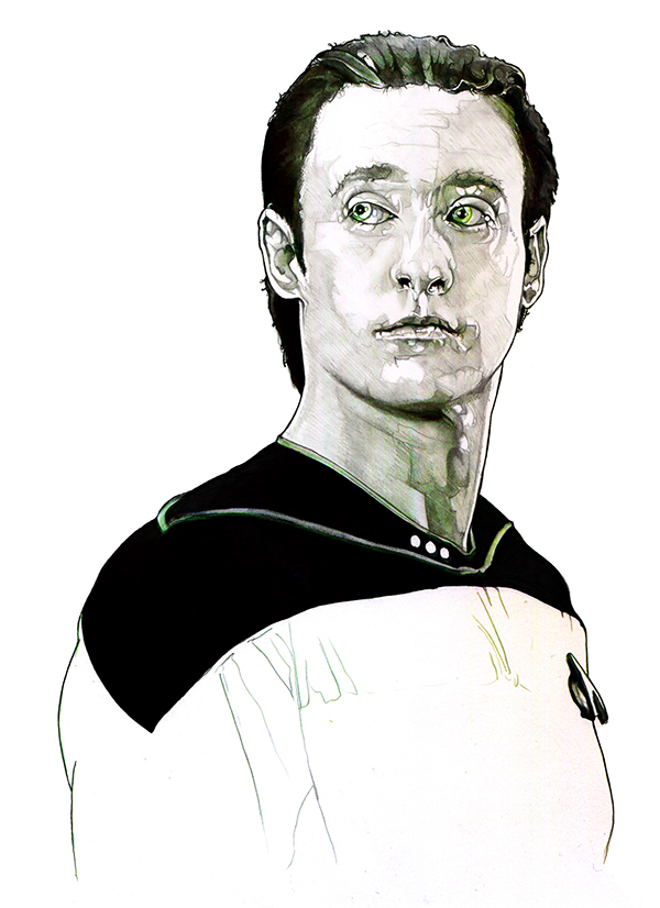 12-Brent-Spiner-Data-Lore-Corbyn-S-Kern-Game-of-Thrones-Star-Trek-and-Star-Wars-Character-Drawings-www-designstack-co