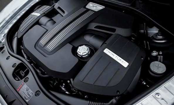 2017 Bentley Flying Spur V8 S Engine