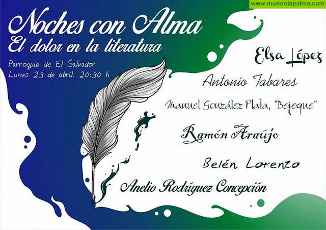 """El ciclo Noches con Alma reúne en Santa Cruz de La Palma a escritores palmeros en torno a """"El dolor en la literatura"""""""