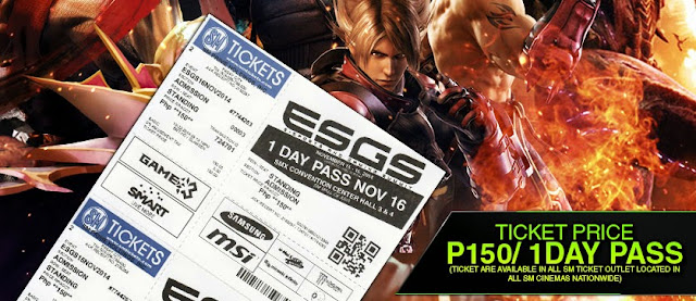 ESGS 2014 Ticket Prices