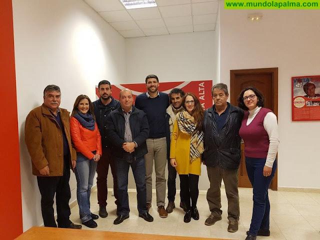Daniel Rodríguez, reelegido secretario general del PSOE de Breña Alta