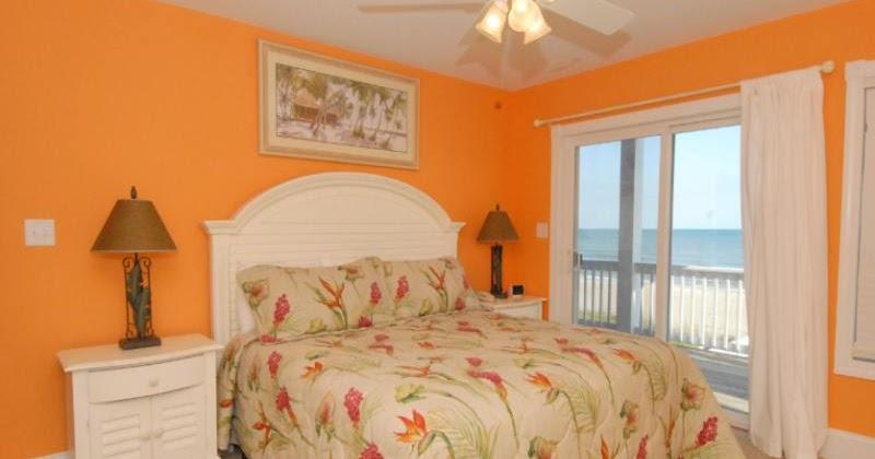 Dormitorios con paredes naranjas ideas para decorar dormitorios - Ideas para pintar paredes de dormitorios ...