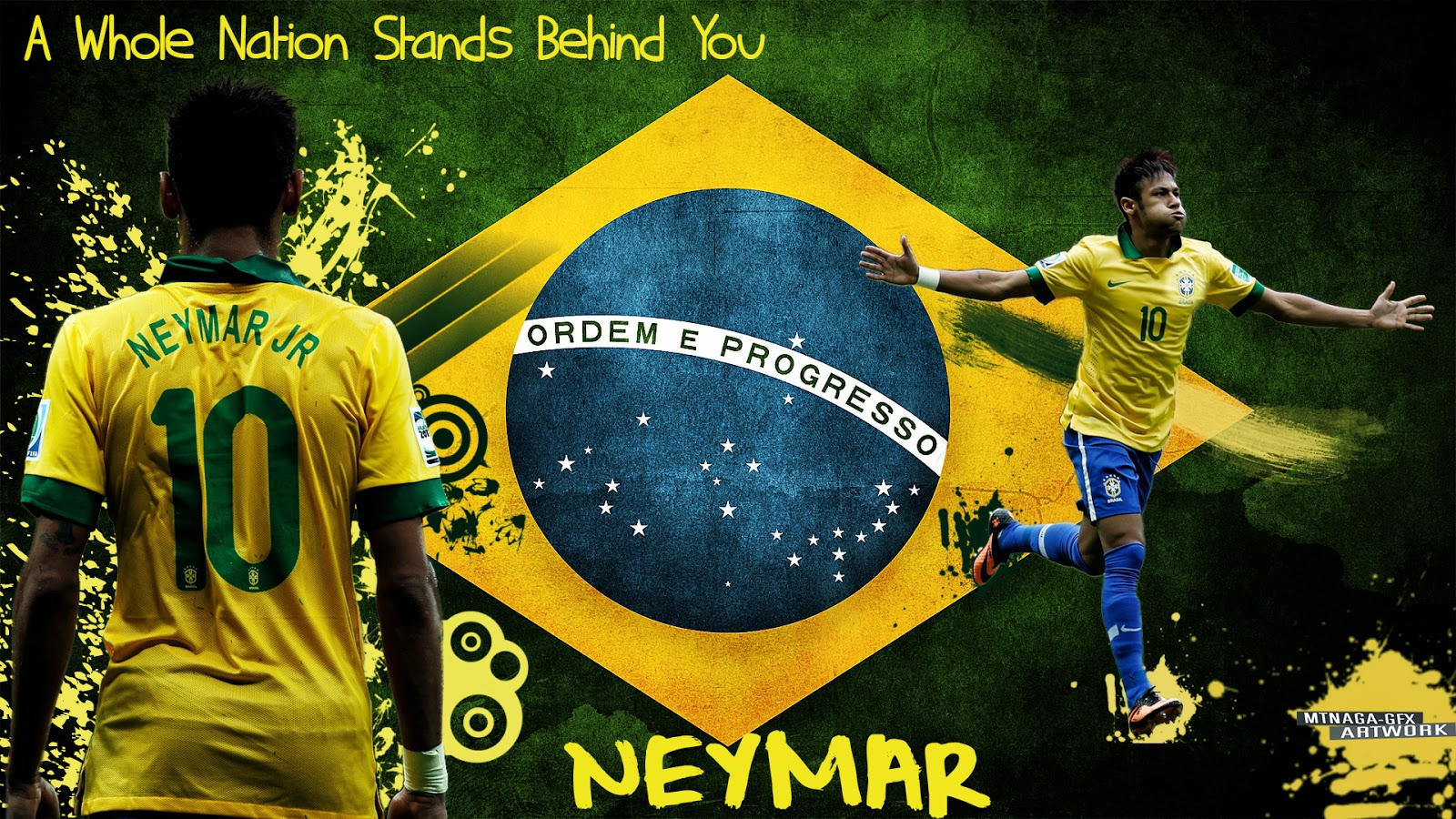 Neymar Brazil HD Wallpapers