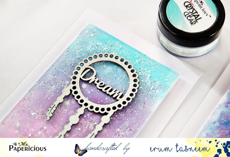 Paperiicous Dream Cather Chippies. Cards by Erum Tasneem- @pr0digy0