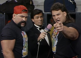 WCW Great American Bash 1992 - Rick & Scott Steiner had strong words for Miracle Violence Connection