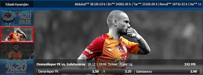 Osmanlispor Galatasaray Bahis Oranlari