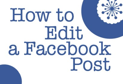 how to edit a post on facebook page