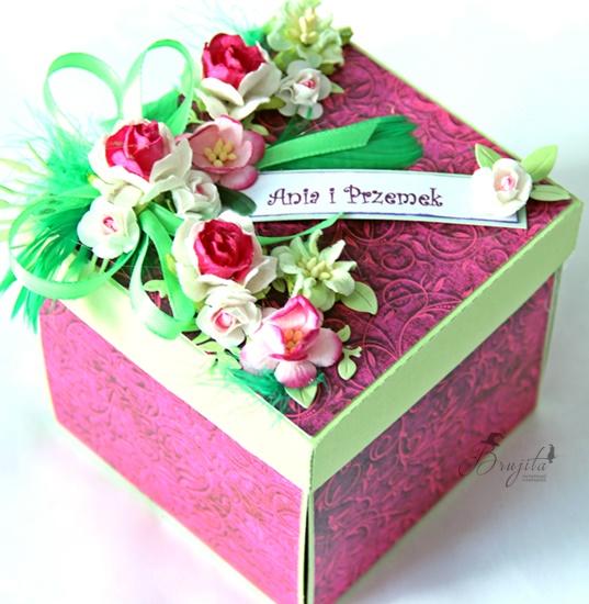 niespodzianka na urodziny, prezent dla dziewczynki, explodujące pudełko, Magiczna Kartka inspiracje, tort urodzinowy, prezent na ślub, jak dać pieniądze na ślub, zaskakujący prezent