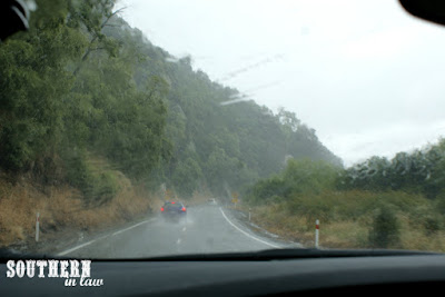 Bipolar Weather and Torrential Rain in Taupo New Zealand