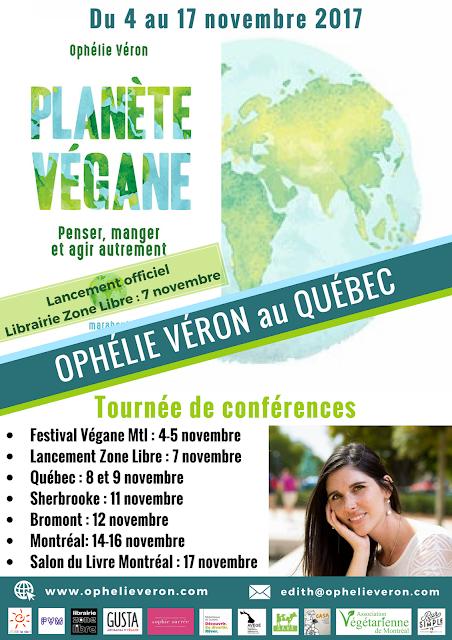 Ophélie Véron au Québec - J'OSE la vie !