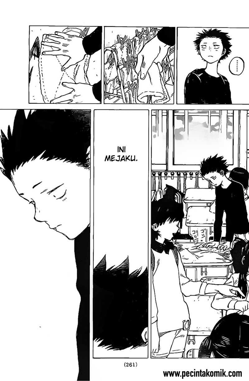 Koe no Katachi Chapter 04-23