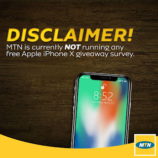 MTN iPhone x giveaway