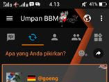 Download BBM FULL DP The Begal V3.0.1.25 Unclone versi terbaru 2016