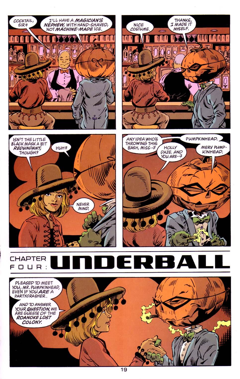 Read online Merv Pumpkinhead, Agent of D.R.E.A.M. comic -  Issue # Full - 20