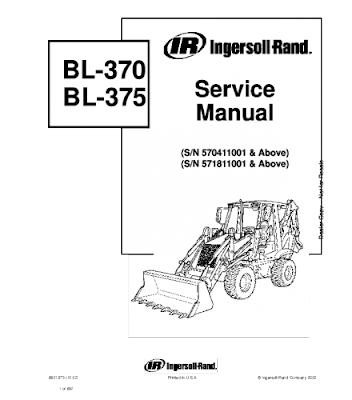 New Holland Agriculture Manual PDF: BOBCAT BL370, BL375, BL ... on