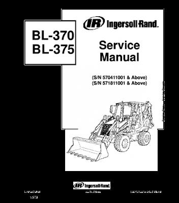 New Holland Agriculture Manual PDF: BOBCAT BL370, BL375