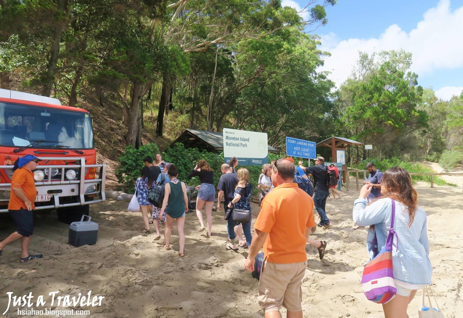 布里斯本-摩頓島-巴士-景點-交通-住宿-推薦-旅遊-自由行-澳洲-Brisbane-Moreton-Island-Tourist-Attraction-Travel-Australia