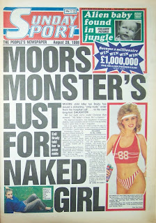 Vintage Sunday Sport British tabloid newspaper download for free