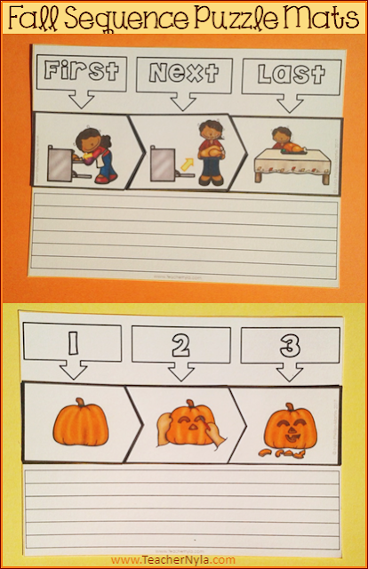 Sequencing Activity - Fall theme