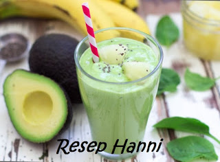 Resep Avocado Smoothie