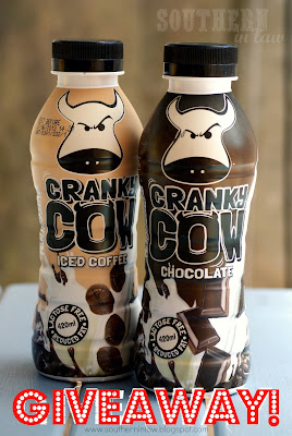 Cranky Cow Milk - Iced Coffee and Chocolate Flavoured Lactose Free Milk