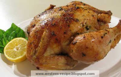 Western food recipe slow roasted baked chicken slow roasted baked chicken ingredients forumfinder Gallery