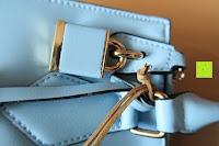 Schmuck: Veevan Damen Elegante Top-Handle Schultertasche Handtaschen (Blau)