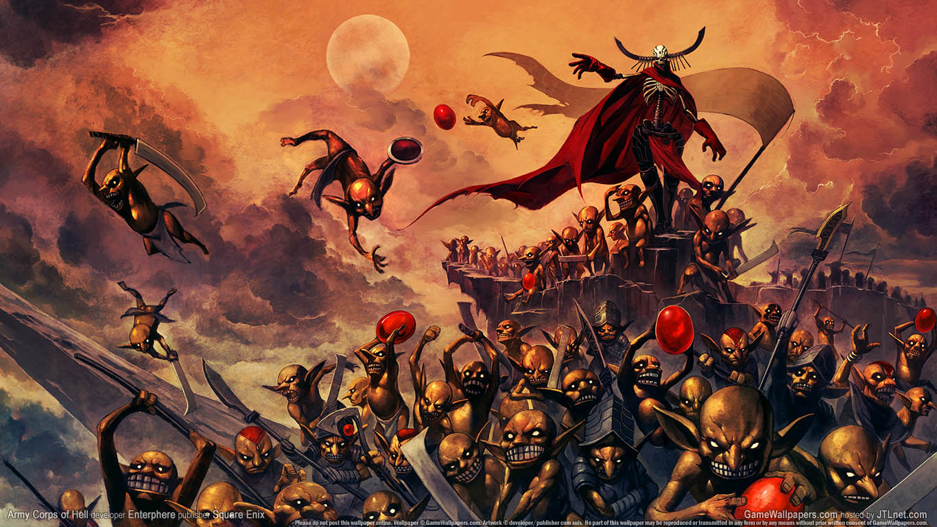 Armario Geek Wallpaper Army Corps Of Hell
