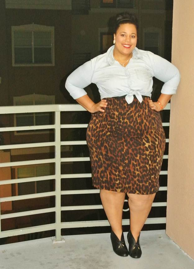5bb74b5f97c Ode to the Leopard Pencil Skirt - Garnerstyle