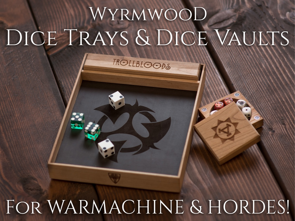Tabletop Fix: Wyrmwood Gaming - New Warmachine & Hordes Dice