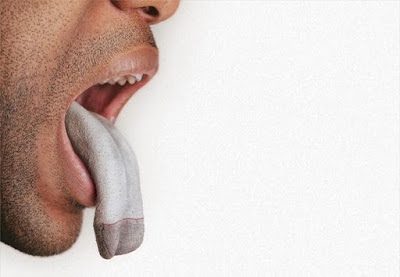 Tongue as a sock