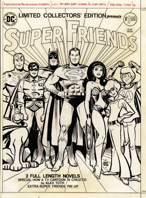 Favorite Comic Artist Countdown #4 - Alex Toth!