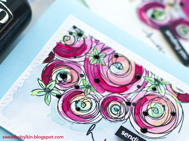 Easy Stamp To Watercolor