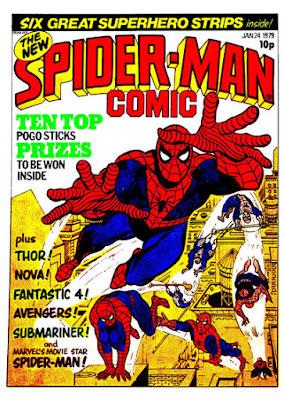 Marvel UK, Spider-Man Comic #311, Keith Pollard
