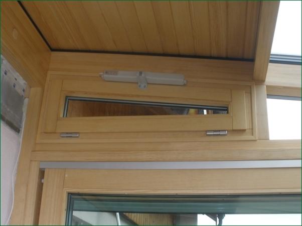 okno uchylne otwierane elektrycznie, budowa ogrodu zimowego,