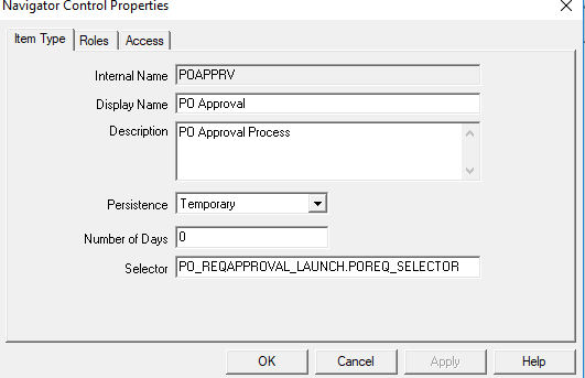 Introduction of Oracle Workflow builder Objects in Detail