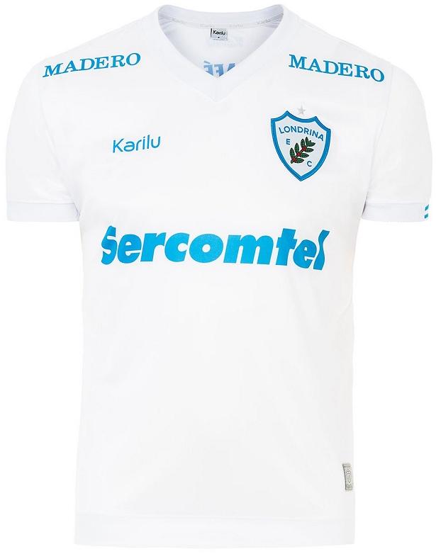 Karilu apresenta novas camisas do Londrina - Show de Camisas 6b0a2174a8e60