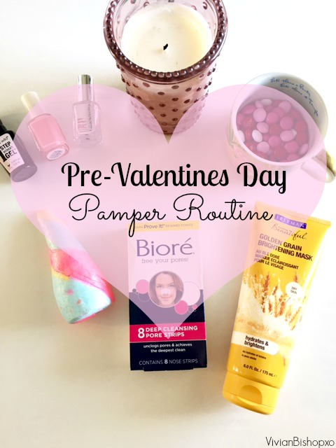 valentines day pamper routine