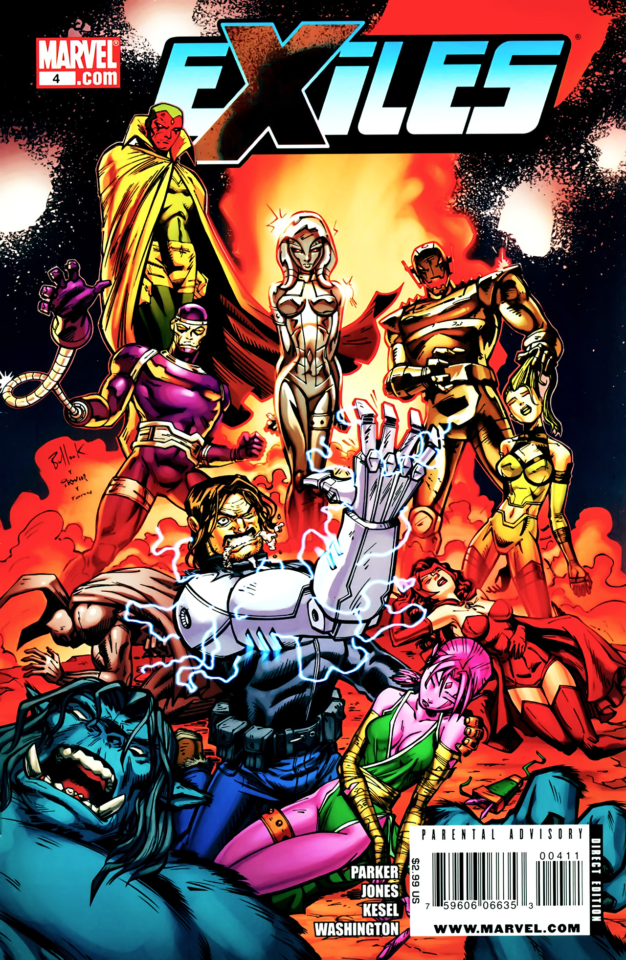 Read online Exiles (2009) comic -  Issue #4 - 1
