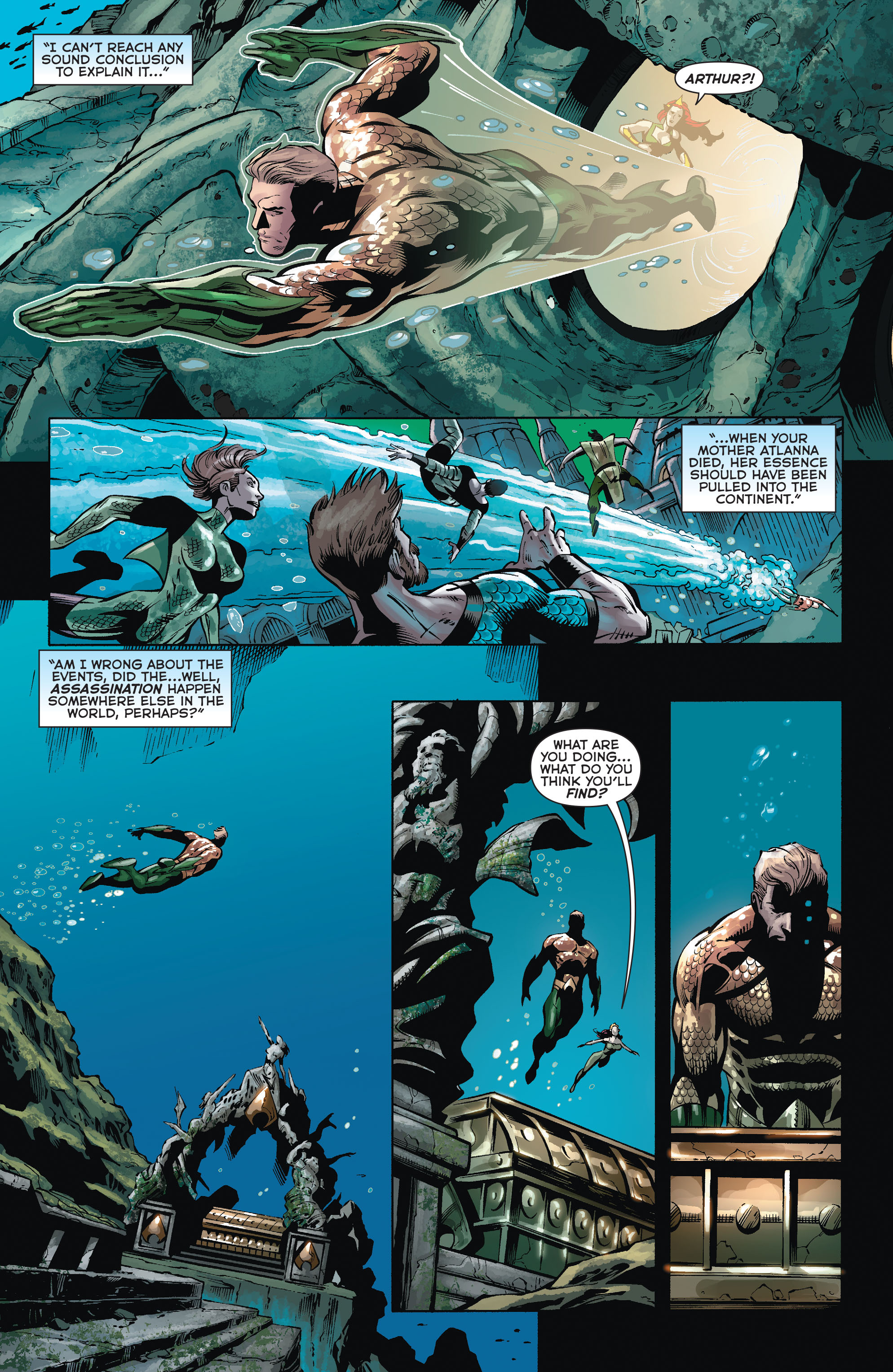 Read online Aquaman (2011) comic -  Issue #35 - 19