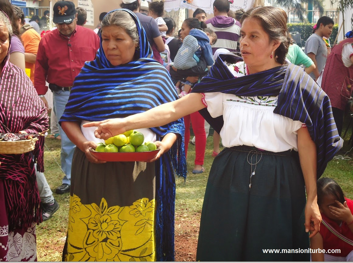 Women from Santa fe de la Laguna at Lake Patzcuaro work together for their community