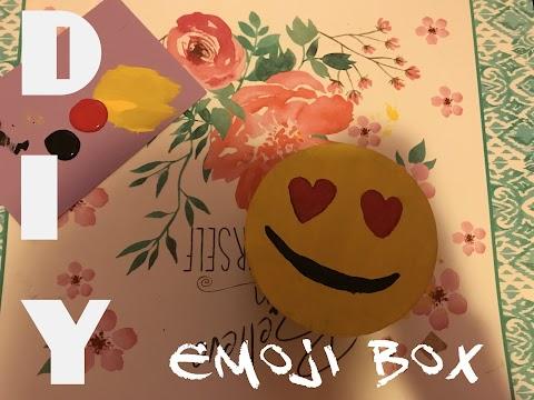 DIY How to Make an Emoji Box